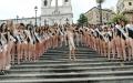 Piazza di Spagna e Campidoglio: la testimonial Mara Santangelo